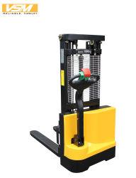 Vsm 1000кг 1200 кг электрический, 1.0t 1.2t укладчика укладчик, электрический погрузчик, подъем 3000мм, Electricl Штабелеукладчика, склад укладчика