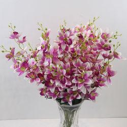 Commerce de gros Indoor Accueil plante décorative Fleur artificielle