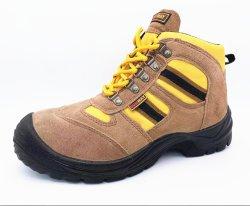 S1P/S3 long industrielle en cuir des chaussures de sécurité à Guangzhou