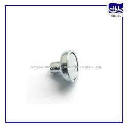 El Tornillo caliente de la forma de anillo de imanes de neodimio NdFeB componente magnético