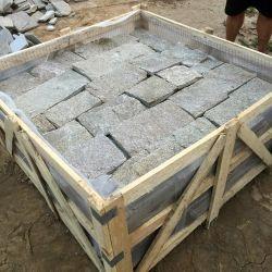 SMC-FS090 Sésamo Yollow Castillo de cuarzo Revestimiento de pared de piedra