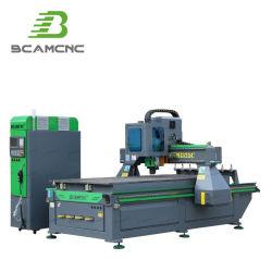 목공 절단 가구용 ATC 3축 CNC 라우터 기계 알루미늄 금속 조각 3D 나무 두로 만든 주방 캐비닛 1325 CNC