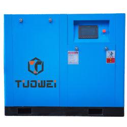 Tuowei 220kw de poupança de energia do compressor de parafuso 300HP 8bar Compressor de ar para soprar de plástico