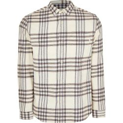 قميص بليد مغطس بالأقمشة المنسوجة للرجال المنسجلة ذات الأكمام الطويلة، بالإضافة إلى قميص الأعمال غير الرسمي