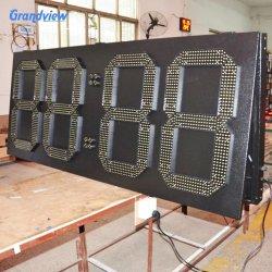 Digit des Totem-Ölpreis-Gaspreis-LED nummeriert LED-Tankstelle-Preis-Zeichen-Bildschirmanzeige