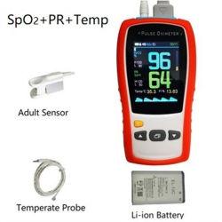휴대용 PET 수의과 산소 측정기 PET 맥박 산소 측정기