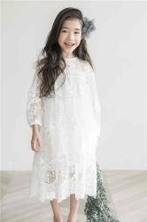 Robe longue robe dentelle enfants Kid's Vêtements fille tenue décontractée