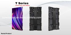 مصنع الصين للاستئجار الداخلي في الهواء الطلق ألومنيوم P2.604 P2.976 P3.91 لوحة LED لحائط حفلات الزفاف موديل P4.81 مقاس 500 مم*1000 مم*لوحة LED لحائط حفلات الزفاف شاشة LED