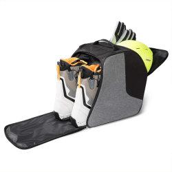 ヘルメットのバックパックの記憶袋のヘルメットのポケットが付いている屋外の柔らかパッドを入れられた循環のスポーツ旅行袋