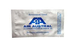 Embalagem personalizado sachê de saco de alumínio para Toalha de atualização