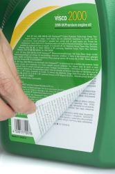 Servizio di stampa giornaliera di etichette con adesivi in resina epossidica personalizzati per Detersivo per bucato