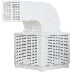 3kw 40000 تدفق الهواء نافذة الصحراء التجارية الصناعية الغرفة الداخلية المياه مضخم صوت التردد الطبيعي مكيف الهواء المحمول/مبرد الهواء التبخر للحلقة