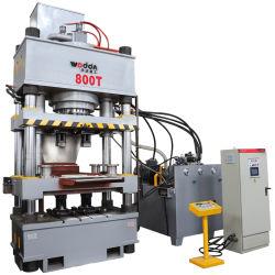 Bloc de briques de sels minéraux Animal quatre colonne Licking 800 tonne Presse hydraulique Making Machine