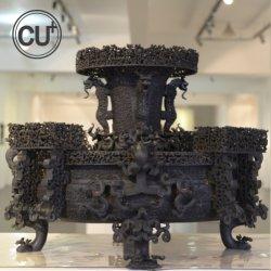 Ware Escultura em bronze de imitação de Dynasty decoração urbana de recreio