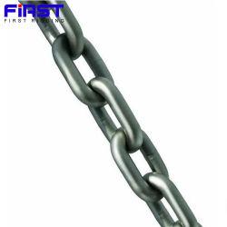 الناقلات الصناعية للخدمة الشاقة الرفع الوصلة التعدين الملحوم من الفولاذ اللوي سلسلة