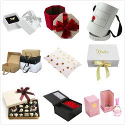 Custom Cycle d'emballage en carton rigide de luxe les emballages papier boîte cadeau pour les Cookies de cosmétique de fleurs bijoux bougie Watch perruque de vin de parfum chocolat Vêtements Hat