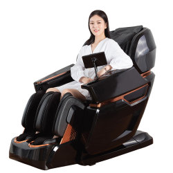 Корпус качающегося релаксации 4D массажное кресло электрическом стуле массаж