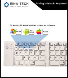 Bewegliche faltende Bluetooth Tastatur für Mobiltelefon-Tablette