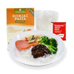 Biokost-niedrige Vergaser-Gluten-freie Teigwaren-Konjac sofortige Nudeln