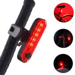 La bici posteriore ed anteriore di Linli illumina l'indicatore luminoso addebitabile della coda della bicicletta del USB