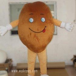 Новая реклама картофель талисман костюм символ продовольствия для взрослых