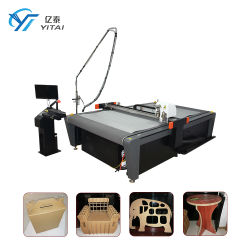 La Chine meilleur tissu tissu couteau automatique CNC chiffon Textiles Cuir vêtement Vêtements Machine de découpe de matériaux pour motif de la faucheuse de marquage prix d'usine faire traceur