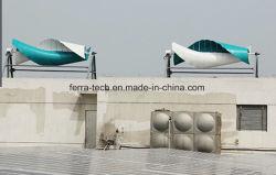 2kw de spiraalvormige Turbine van de Wind van de As van Bladen Horizontale