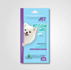 120 ПК витамин Е ПЭТ салфетки не содержит спирта собака чистящие салфетки для ванной