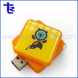 Alimentation de la résine personnalisée en usine stick USB à mémoire Flash