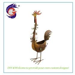 Mode chinois de gros coq Fleur pot de semoir pour le jardinage domestique