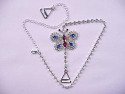 Il reggiseno di cristallo di qualità eccellente del fornitore della Cina lega il Rhinestone della cinghia del reggiseno di Diamante usato per le cinghie del reggiseno