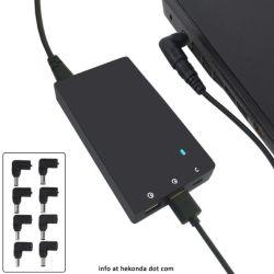 80W USB Slim c carregador portátil USB Tipo C Carregador e adaptador de alimentação do carregador 3.0 QC