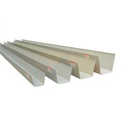 Aluminium extrudé personnalisée OEM 6063 gouttière pour dessin de CAO