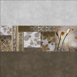 La surface brillante de matériaux de construction les carreaux de céramique à fixation murale pour la décoration d'accueil