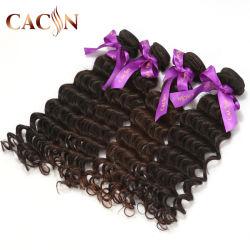 Amostra grátis cutícula completa alinhada cabelos onda profunda cutícula humanos alinhada cabelos cacheados trama