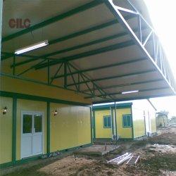 Campo de Refugiados / Estaleiro Camp / Campo de trabalho / Campo de força para Port Limon Projecto na América Central (CILC-Campo-003)
