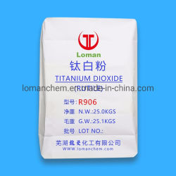 Revêtement en poudre et la peinture utilisée Dioxyde de titane rutile Grade TiO2 R906
