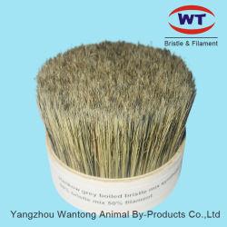 La soie de porc Mix creux pour le pinceau conique de filaments synthétiques