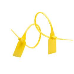 ملصق أمان روابط الكابلات البلاستيكية ذات القفل الذاتي للمداسات (TC330-2638-1)
