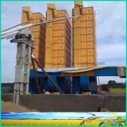 35t Flujo automático de control inteligente de secador para secar el arroz de grano