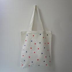 La Chine a fait logo imprimé Coton Canvas sac fourre-tout sac shopping à main