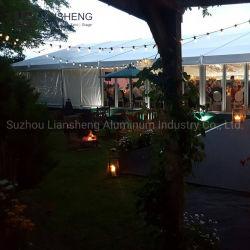 الجملة 30X40m جديد فاخرة 1000 الناس شفافة الزفاف للبيع حديقة جازيبو عالية الجودة مصممة بشكل رومانسى بخيمة ماركيز التجارية الخارجية 20×20 ميجا ul