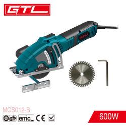 Portable madera, metal, azulejos, herramientas de corte mini sierra circular eléctrica