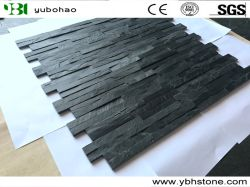 Ardesia nera di pietra naturale per il rivestimento/la pavimentazione del tetto/Roof//Flooring/Floor/Wall dell'ardesia della pietra della coltura delle mattonelle