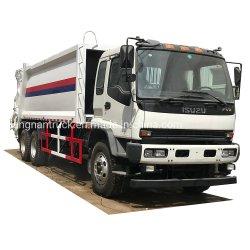 Isuzu 20 кубических метров на сбор мусора сжатия погрузчик отходов Мусорокомпактора мусора