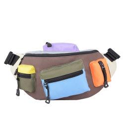 Junyuan contraste poche pour téléphone mobile multifonction de la poitrine sac pour les sports de plein air de l'exécution