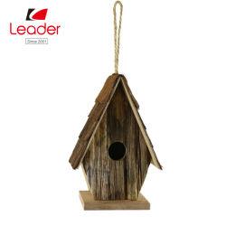 La pendaison en bois naturel de haute qualité pour l'extérieur de la chambre d'oiseaux décoration