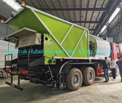 Entretien des routes en asphalte HOWO Distribution puce synchrone d'étanchéité de l'éparpilleur de goudron de chariot