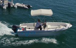 De Vissersboot 5.0m/16.4feet van de Glasvezel van Panga van Liya