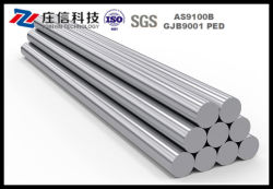Gr23 Grado23 6AL-4V ELI Barra redonda de titanio para uso médico
